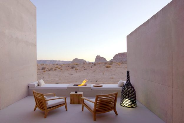 Amangiri is a resort located in Utah in the US. Image: Amangiri