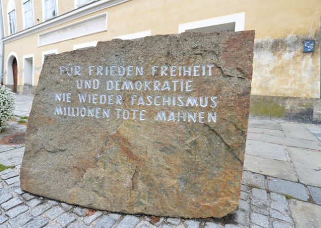 Austrian politicians have passes a law to seize the house where Hitler was born. Image: Anadolu Agency/Getty Images