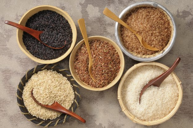 Variety is the rice of life.