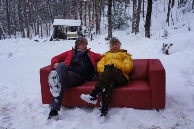 The Canada 150 Red Couch Tour will travel around Canada to celebrate Canada's 150th anniversary. Image: ELPIO Production