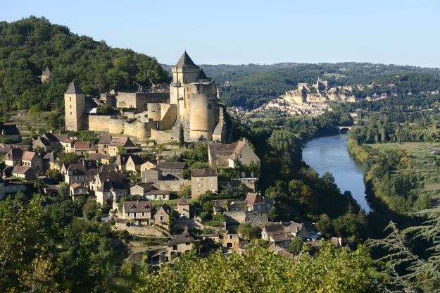 The Dordogne Valley in the south west of France.