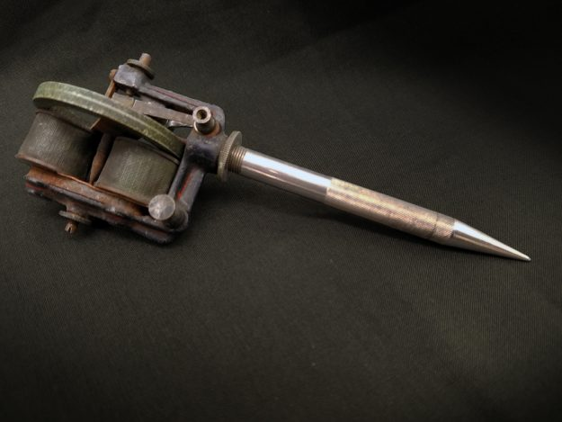 Edison's electric autographic pen made tattooing cheaper and faster,