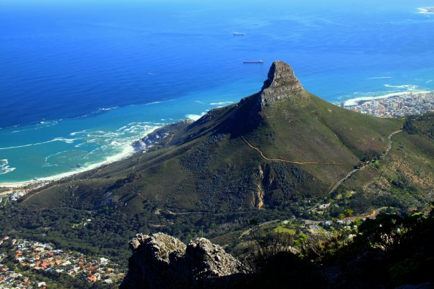 Cape Town will be the final stop for this African cruise.