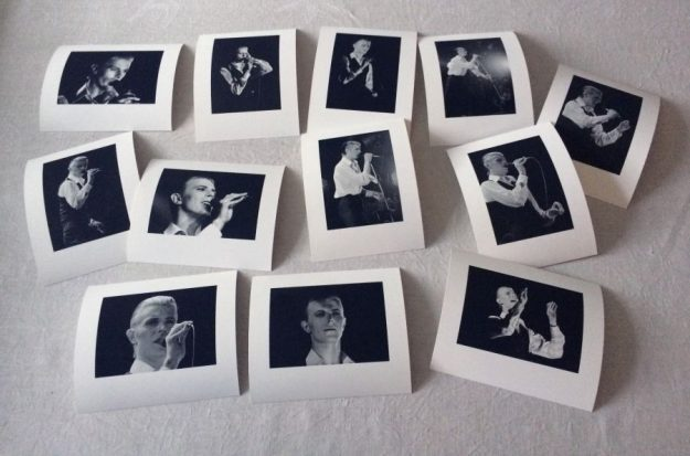 Long-lost Bowie gig photos on display in Stockholm after 40 years. Photo: Stefan Almer