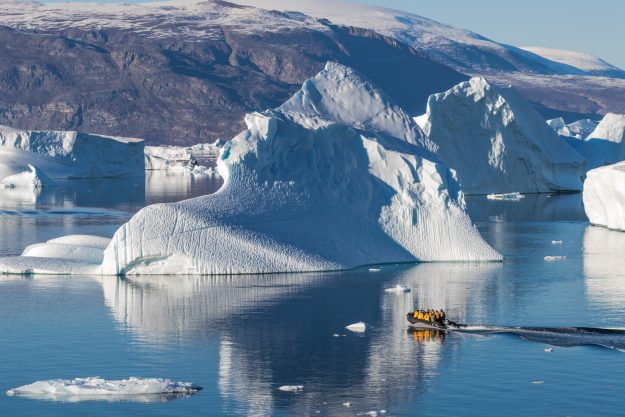 Travel to the North Pole aboard the only working Russian nuclear icebreaker in the world. Image: C.King/Quark Expeditions