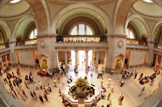 The interior of The Met.