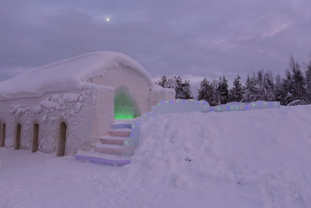Ice Hotel in Lapland, Finland. Image: Stephan Rech