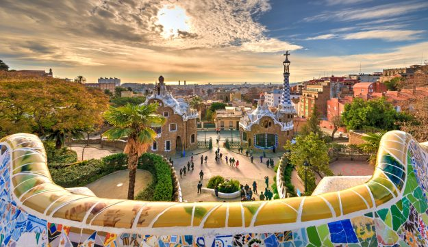 The new Barcelona tourist rules want to prevent sites like this from more overcrowding.