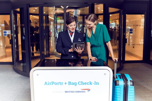 AirPortr also offer an inbound service where bags can be checked and delivered to a London address at a later time.