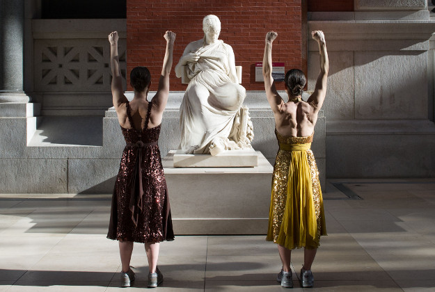 Workout at The Met.