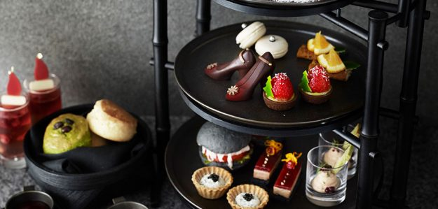 There S Black Afternoon Tea And Cocktails At Japan S Black Bar