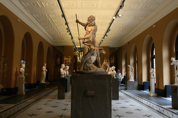 A new treasure hunt app offers adventures in London museums. Image: Breadcrumbs