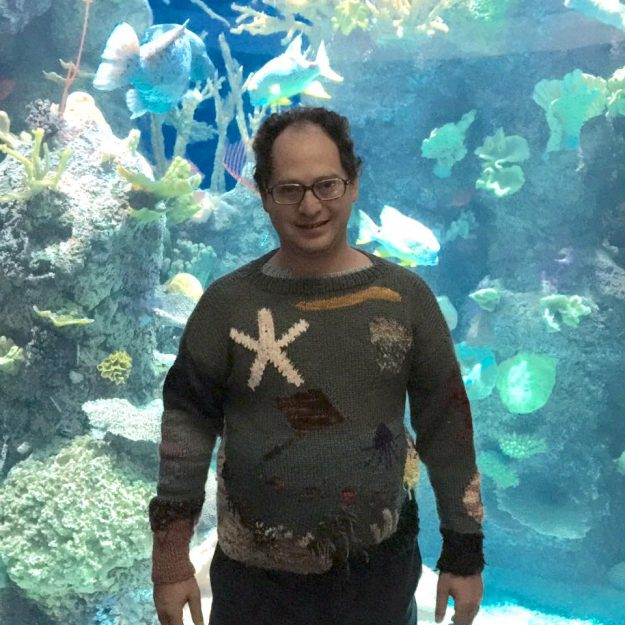 A trip to the aquarium isn't complete without an aquarium themed sweater.