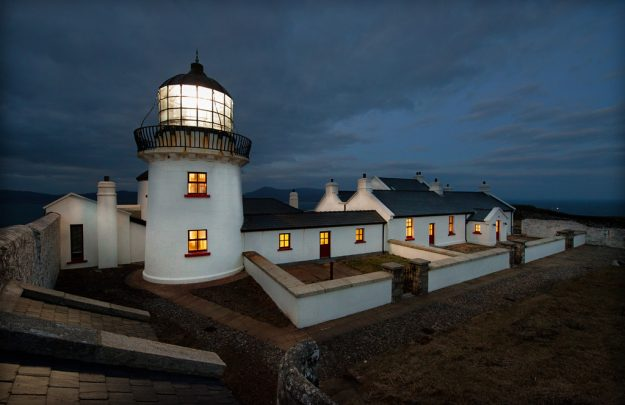 Clare Island Lighthouse is a finalist in the Irish Tourism Awards. Image: Clare Island Lighthouse