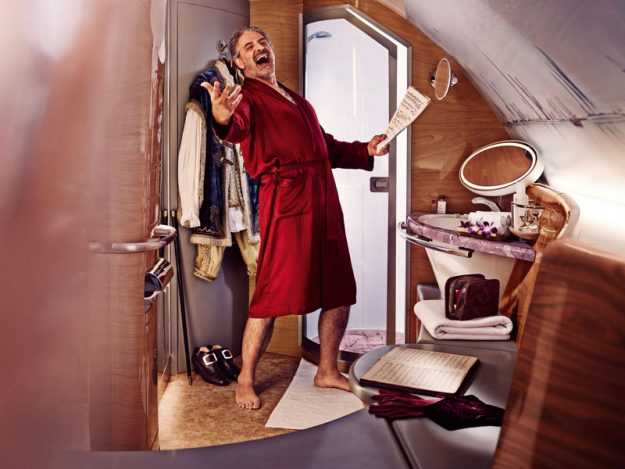Emirates has added PJs that add moisture to your skin to their first class kits. Image: Emirates