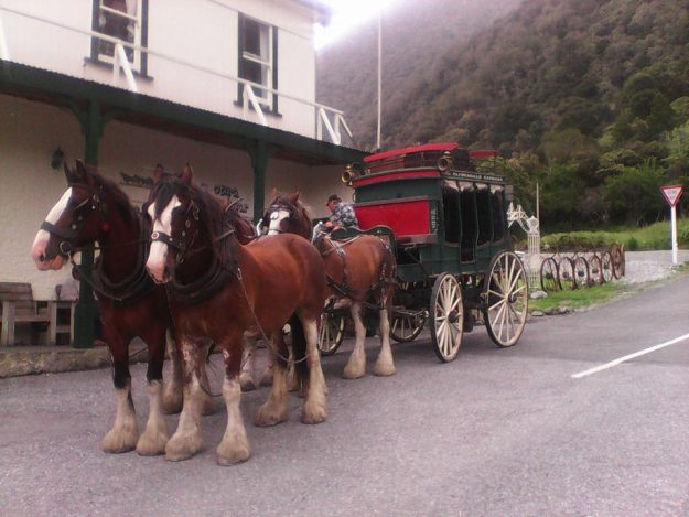 Lester Rowntree is the owner of the Otira Stagecoach Hotel. Image: Otira Stagecoach Hotel