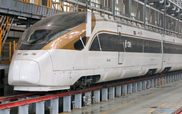 The world's longest high-speed train has launched in China. Image: Imagine China