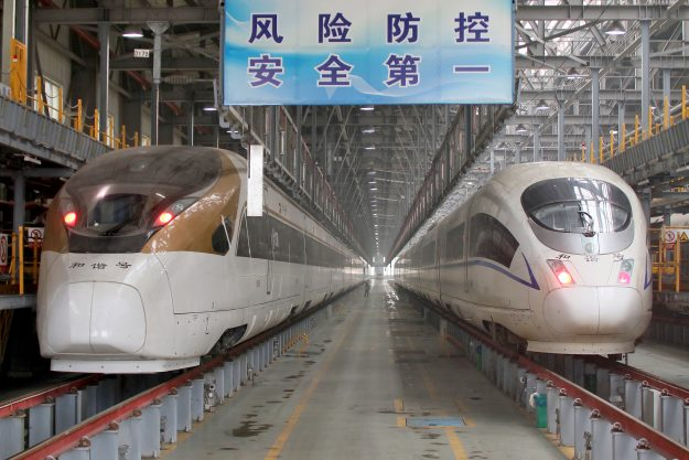 The world's longest high-speed train has launched in China. Image:Imagine China