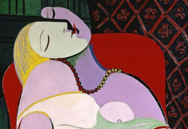 Le Rêve (The Dream) by Pablo Picasso. Image: Tate