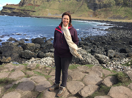 Heather Cowper is one of the travellers over 50 featured in Postcards from a Solo Traveller. Image: Staysure