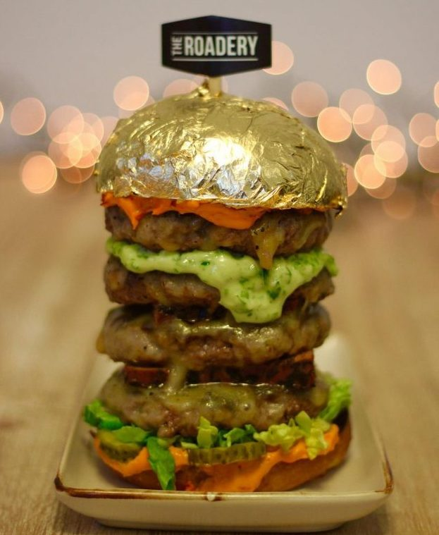 Dubai's gold burger