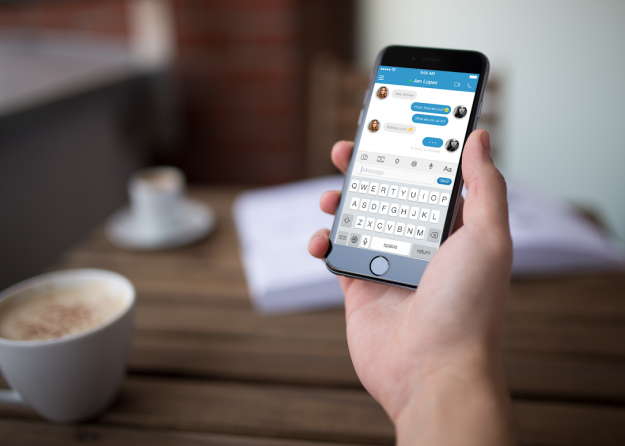 A new app will help you chat with anyone no matter what language they speak. Image: Odle