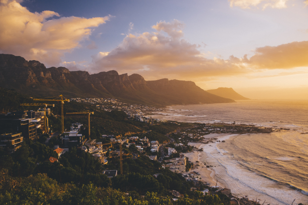 Cape Town, South Africa. Valentine's Day travel