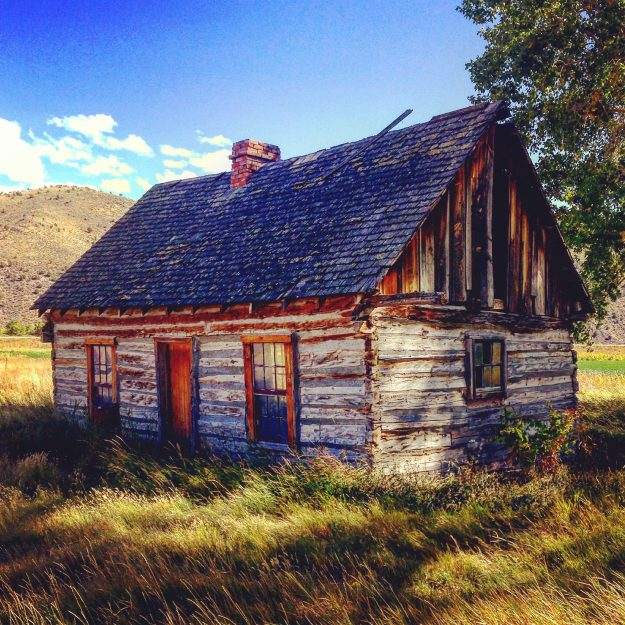 Butch Cassidy's childhood home in Charleville, Utah. Image: Jonathan Thompson
