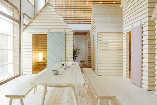 Stay in a Finnish cottage in Paris.