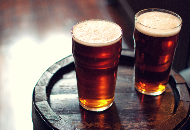 Get a free pint of beer when it rains this month. free pints London