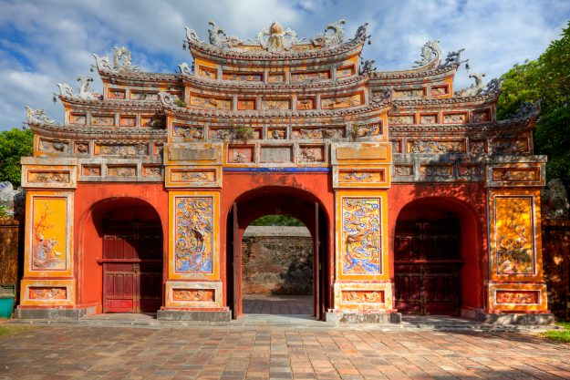 Gate at the Imperial city of Hue, Vietnam. Image: Fototrav via Getty Images