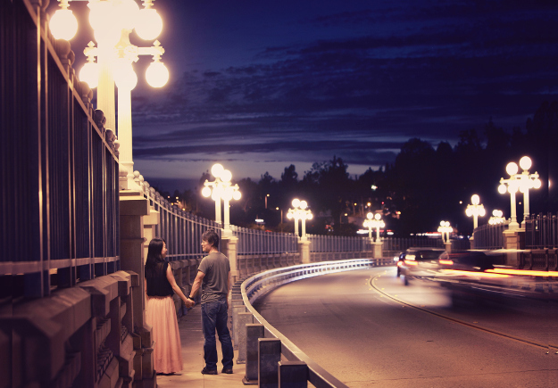 Some cities are more romantic than others.