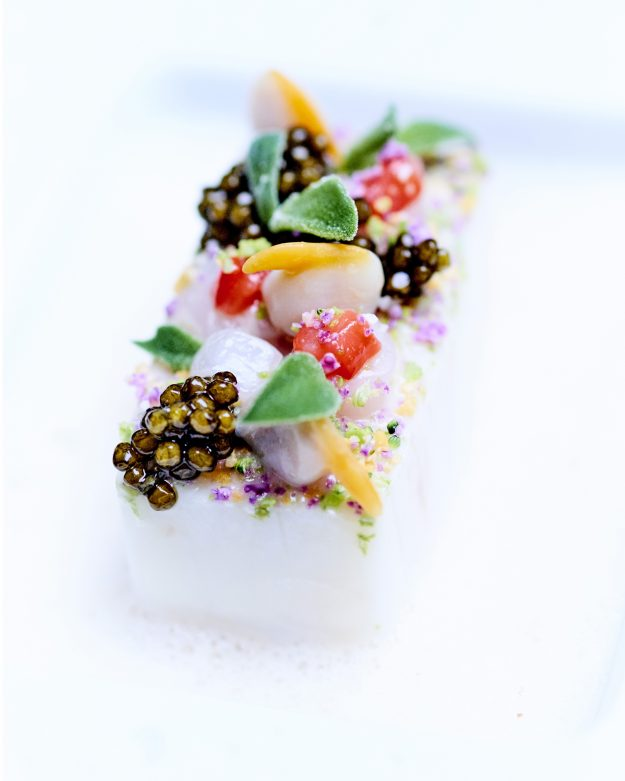The hotel has become the first in Europe to have three Michelin starred restaurant under the one rood.