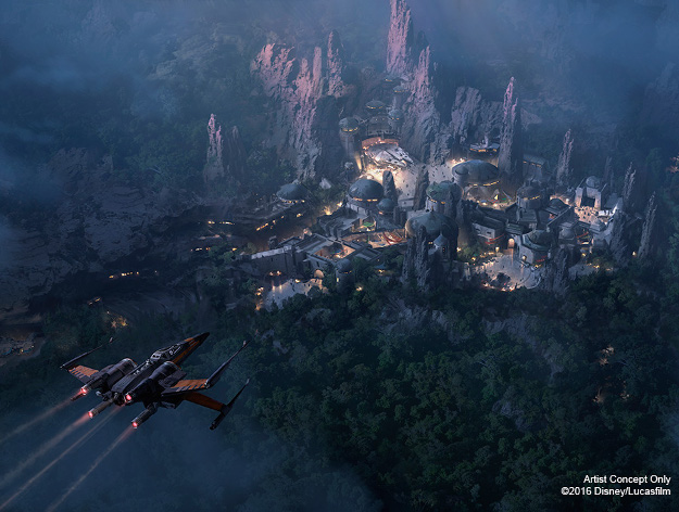 Disney's new Star Wars-themed lands will open in 2019.