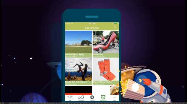 A new app will connect people around their travel experiences. Image: Timeset