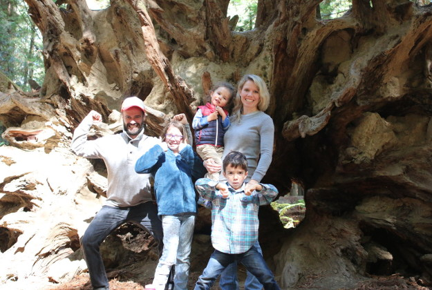 Living the dream: US family sells all for the trip of a lifetime.