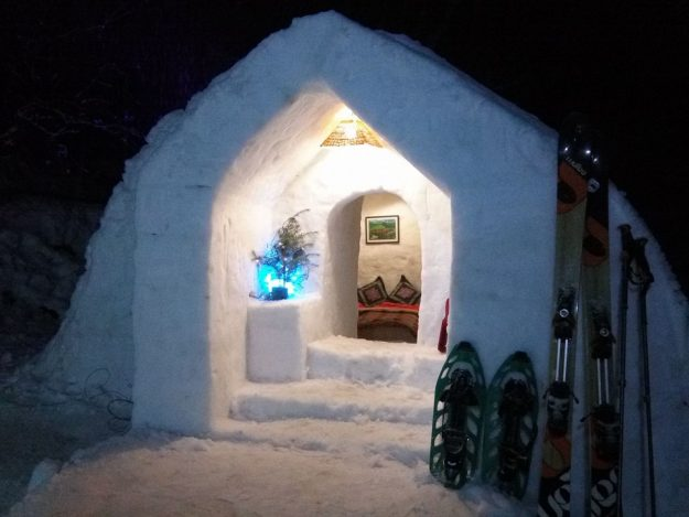 The Manali Igloo hotel in India. Image: Keylinga Himalayan Adventures