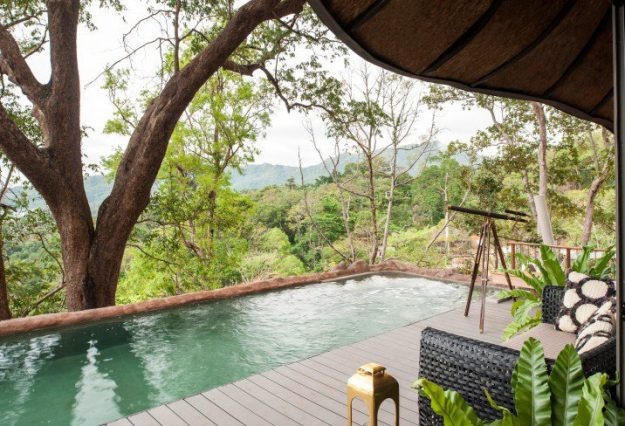 The bedrooms in Keemala in Phuket, Thailand, have been voted the sexiest in the world. Image: Mr and Mrs Smith