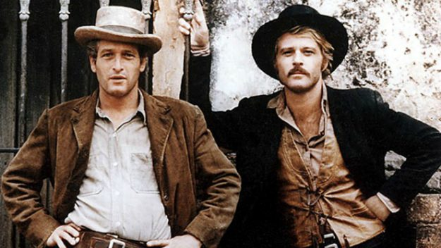 Paul Newman and Robert Redford starred in the movie, Butch Cassidy and the Sundance Kid. Image: 20th Century Fox