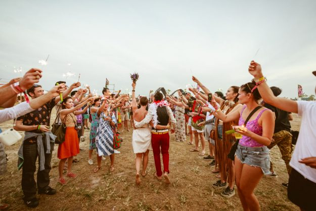 There will be a rice stage at the Wonderfruit Festival. Image: Wonderfruit