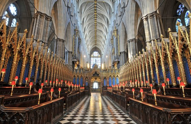 Westminster Abbey came in at number14 in the top UK visitor attractions. Image: ALVA