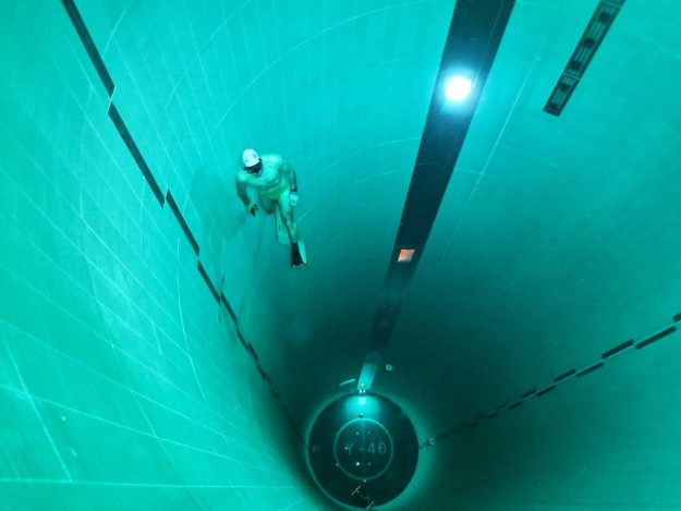 An Incredible Look At The Deepest Swimming Pool In The World