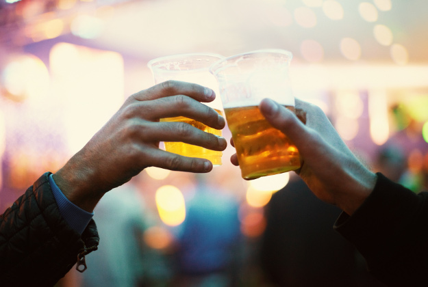 Cheers! Wastewater beer goes down a treat in San Diego.