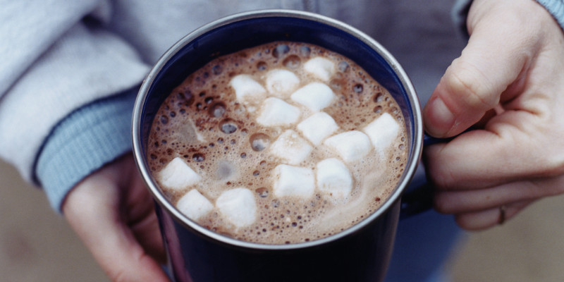 Take part in a hot chocolate run.