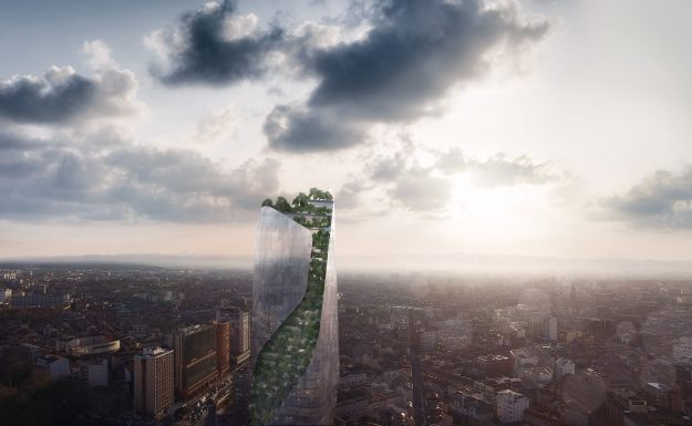 See the plans for Toulouse's first skyscraper - a futuristic spiralling tree-lined tower