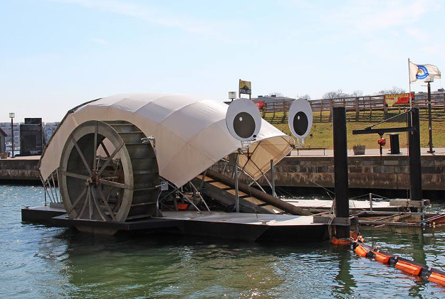 Mr Trash Wheel Baltimore S Eco Friendly Trash Collector