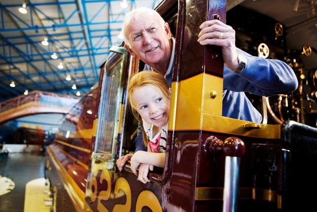 The National Railway Museum came in at number 48 in the top UK visitor attractions. Image: ALVA