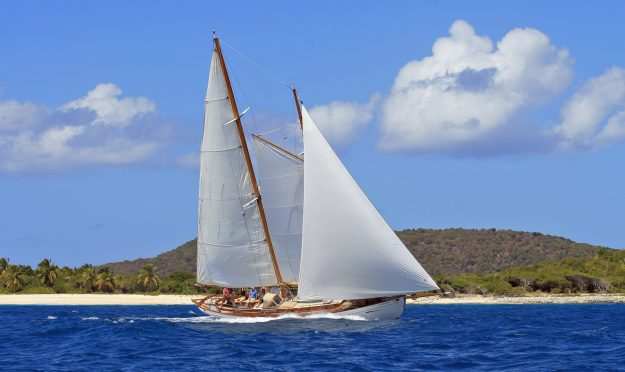 The schooner made famous in Johnny Depps The Rum Diaries.