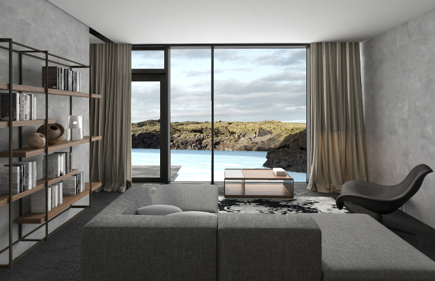 Lava suite at the Moss Hotel.