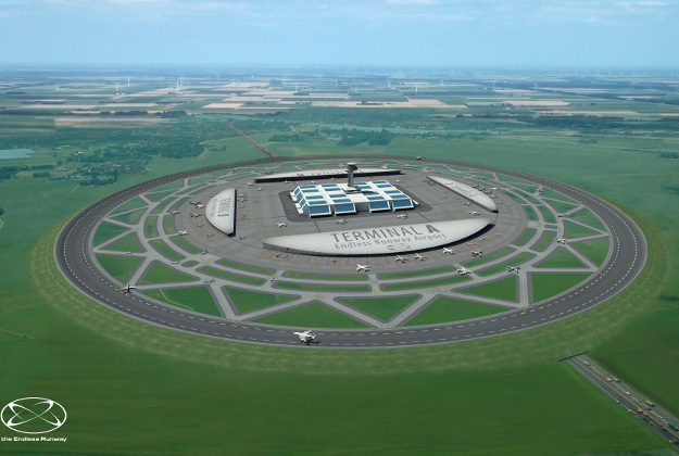 Circular runways: could they work?